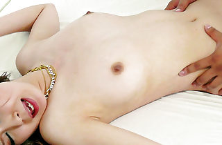 Cutie Rika Aina veld smalls fingered with the addition of boned