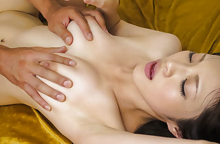 Sara Yurikawa XXL baps beauty enjoys gangbang making love